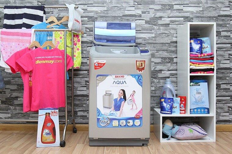 Chọn máy giặt Sanyo inverter 9 kg loại nào tốt?
