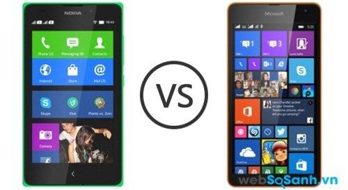 Chọn mua điện thoại Lumia 535 Dual Sim hay Nokia X2 Dual Sim?