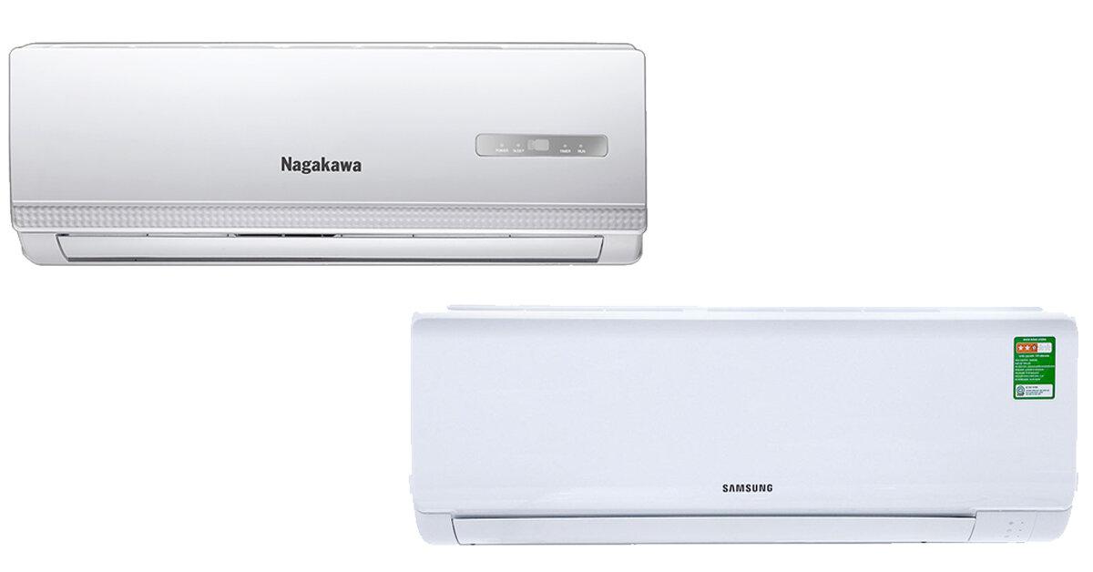 Chọn mua điều hòa Samsung hay Nagakawa ?
