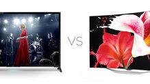 Chọn TiVi màn hình cong OLED tuyệt đẹp hay màn hình 4K sắc nét?