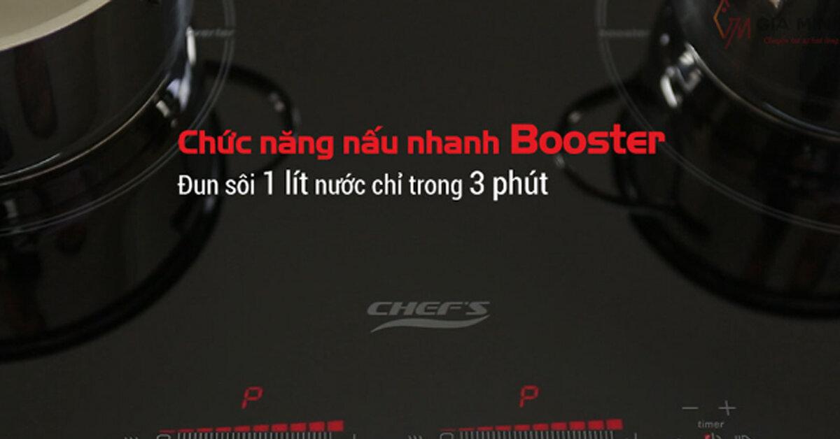 Chức năng Booster là gì ? Có trên bếp từ nào ? Sử dụng như thế nào ?
