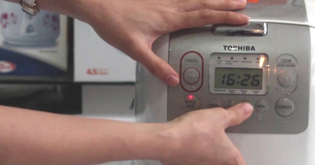 Chức năng lên men – Fermentation ở nồi cơm điện Toshiba để làm gì ? Hướng dẫn cách sử dụng chức năng Fermentation