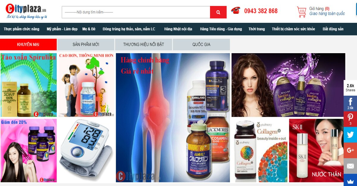 Cityplaza.vn đưa các doanh nghiệp, sản phẩm, dịch vụ uy tín đến với người tiêu dùng