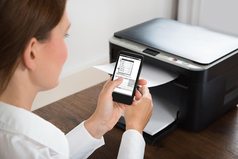 Kết nối máy in với điện thoại hoặc máy tính bảng của bạn