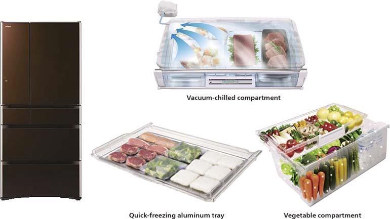 tủ lạnh cấp đông mềm hitachi