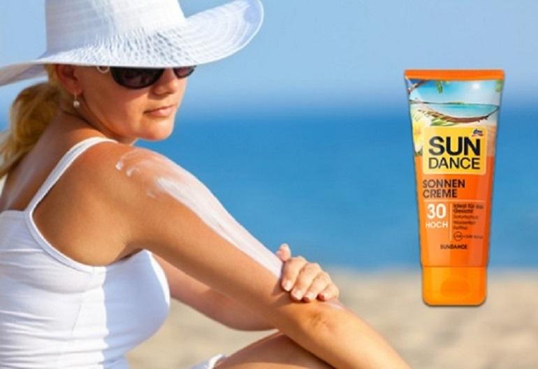 Kem chống nắng Sundance Sonnen Creme