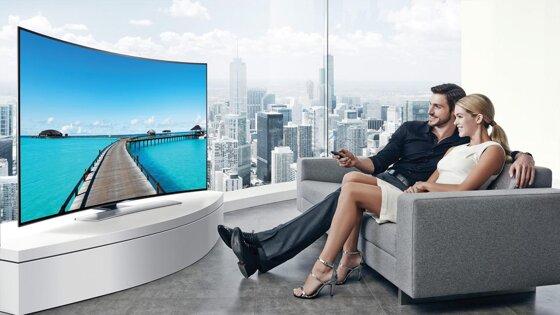 Có hay chăng nên mua TV màn hình cong?