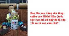 Có hay không sữa cừu Hikid tăng cân, tăng chiều cao cho trẻ từ 1 – 9 tuổi ?