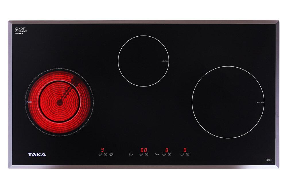 Có nên chọn bếp điện từ 3 vùng nấu Taka IR3EU cho gia đình bạn?