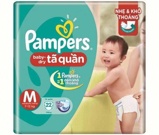 Có nên dùng bỉm Pampers cho bé không?