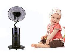 Có nên dùng quạt hơi nước cho em bé hay không?