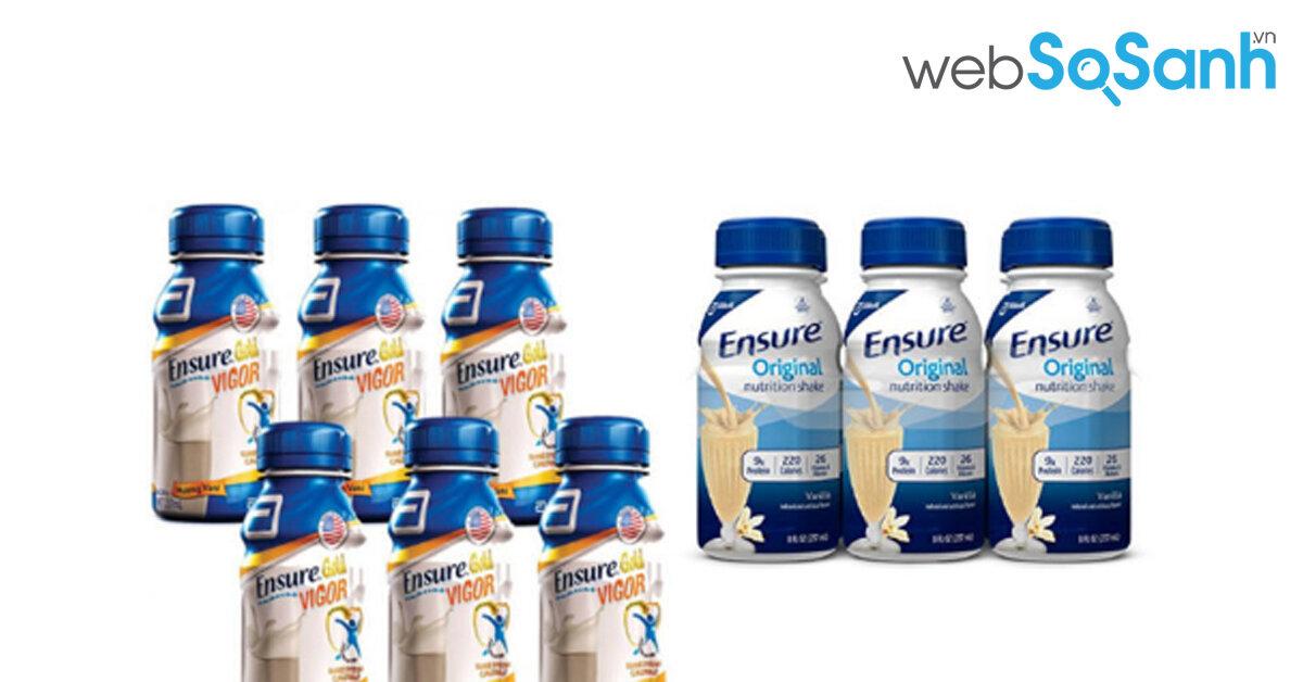 Có nên dùng sữa ensure nước cho người già không ?
