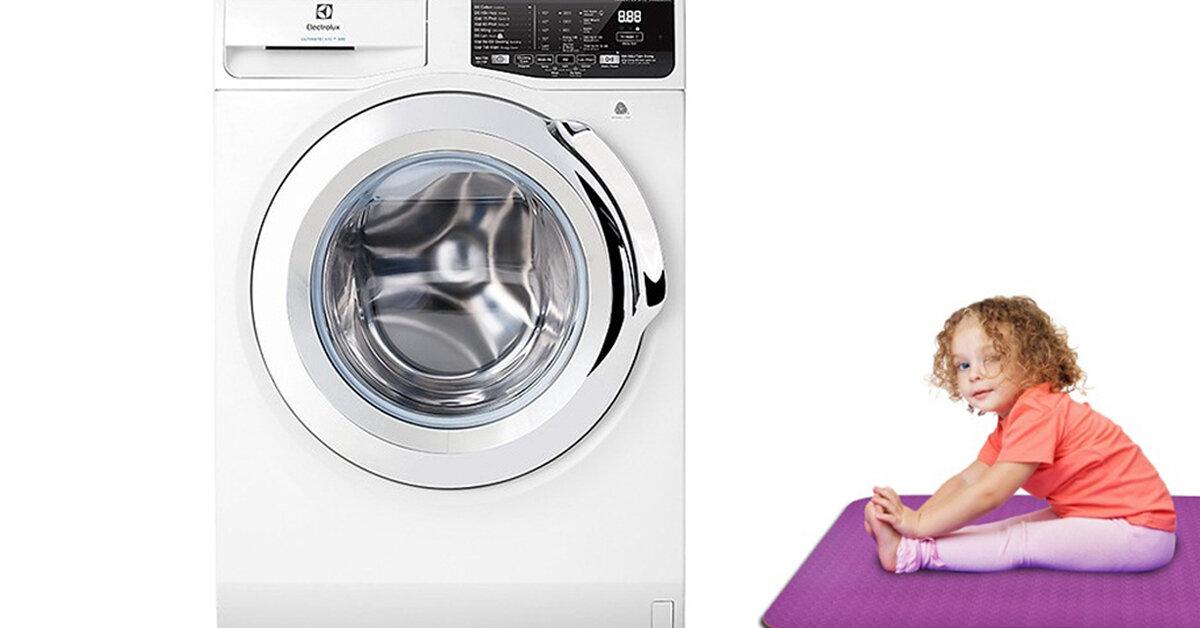 Có nên giặt thảm yoga bằng máy giặt ?
