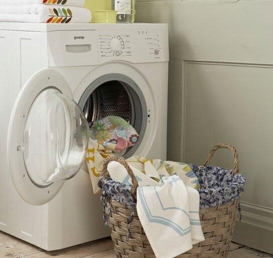 Có nên kê chân đế cho máy giặt lồng ngang?
