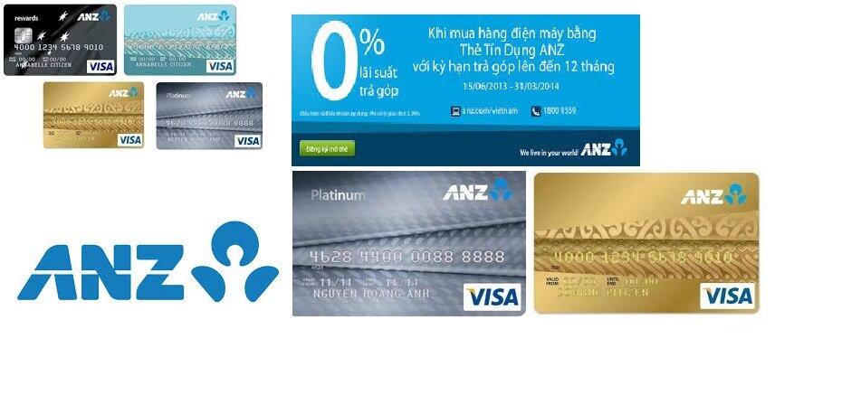 Có nên làm thẻ tín dụng ngân hàng ANZ không