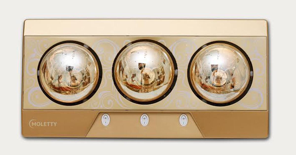 Có nên mua đèn sưởi nhà tắm Moletty không ? giá bao nhiêu ?