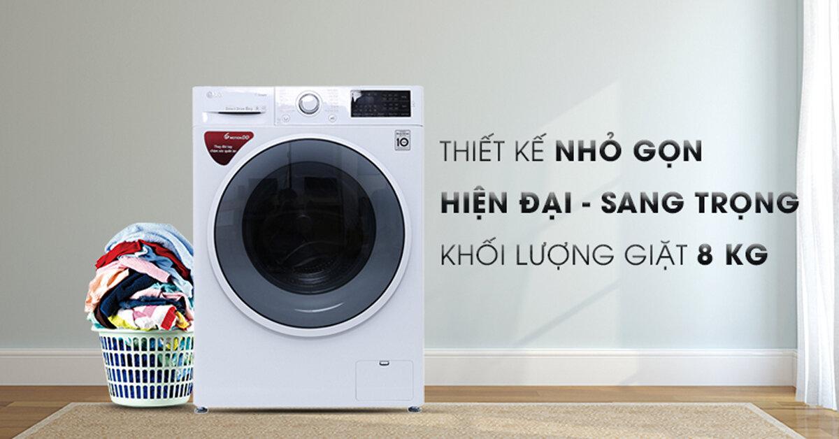 Có nên mua máy giặt LG FC1408S4W2 – Lồng ngang, 8kg không?