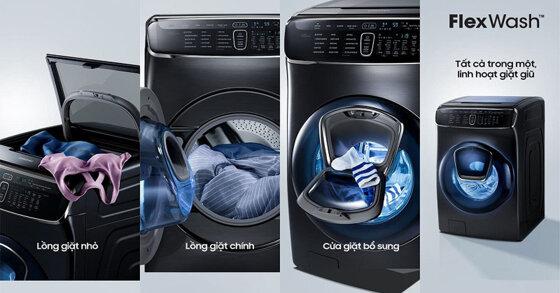 Có nên mua máy giặt lồng đôi Flexwash của Samsung không?