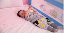 Có nên mua thanh chắn giường cho bé ?