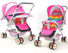 Có nên mua xe đẩy 2 chiều cho bé không?