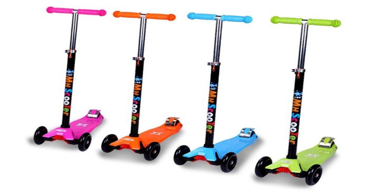 Có nên mua xe trượt scooter cho bé không ?