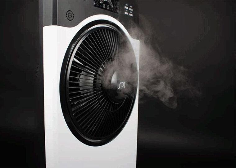 Có nên sử dụng quạt hơi nước không?