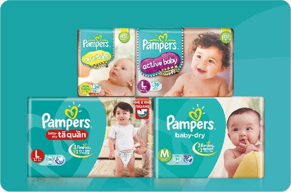 Có nên sử dụng tã giấy Pampers cho bé – Tã giấy Pampers có tốt không?
