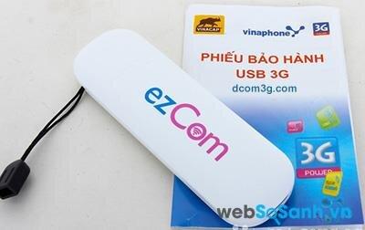 Có những loại Dcom 3G nào trên thị trường?