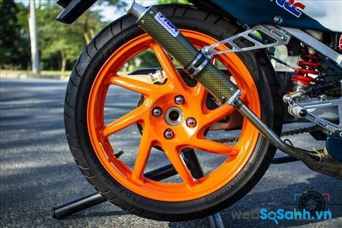 Có những loại mâm độ xe máy nào?