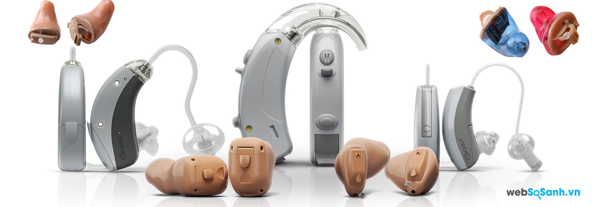 Có những loại máy trợ thính nào?
