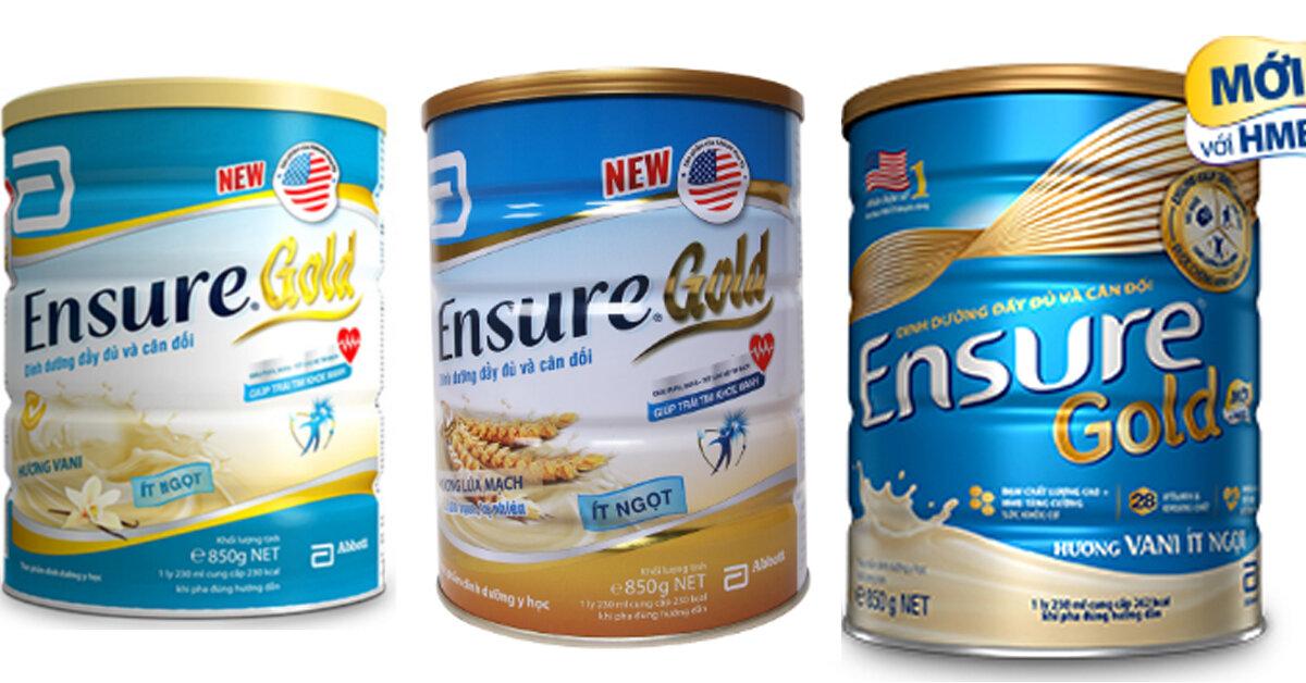Có sữa ensure nào dành cho người tiểu đường không ?