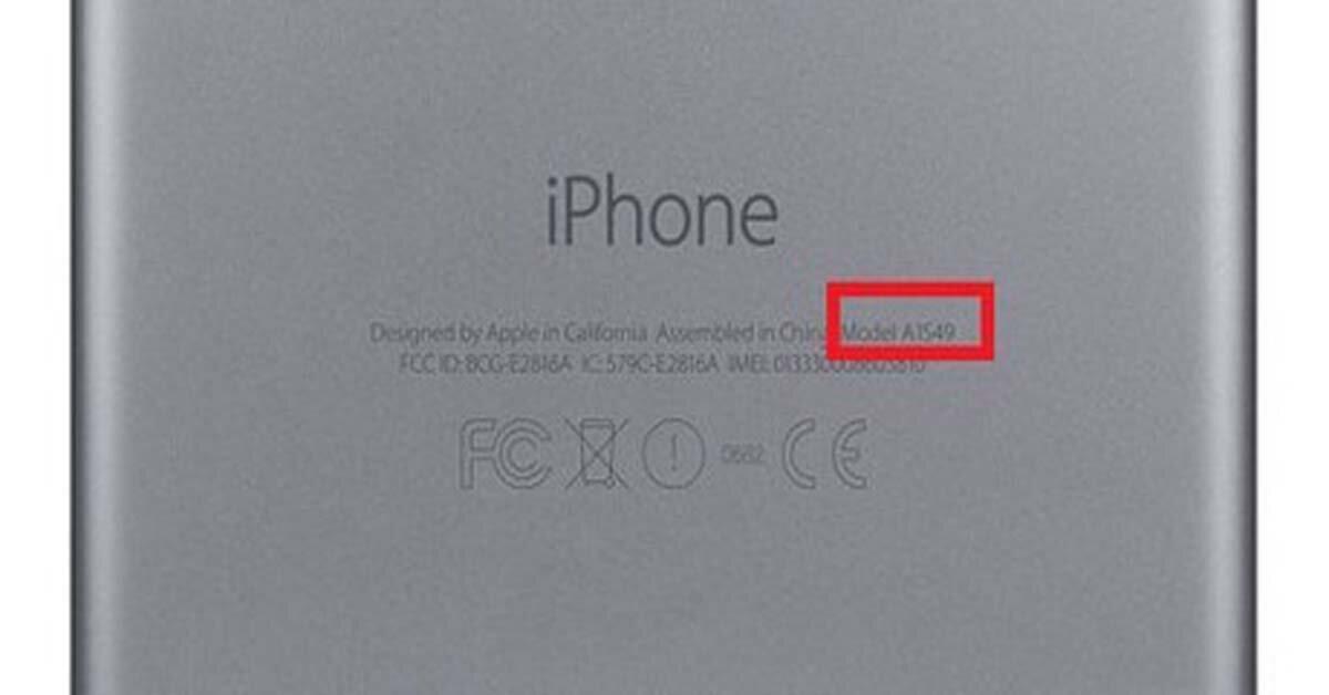 Có thể bạn chưa biết: nhận biết chính xác đời iPhone qua mã ở mặt sau