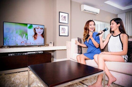 Có thể hát Karaoke online trên smart tivi được không?
