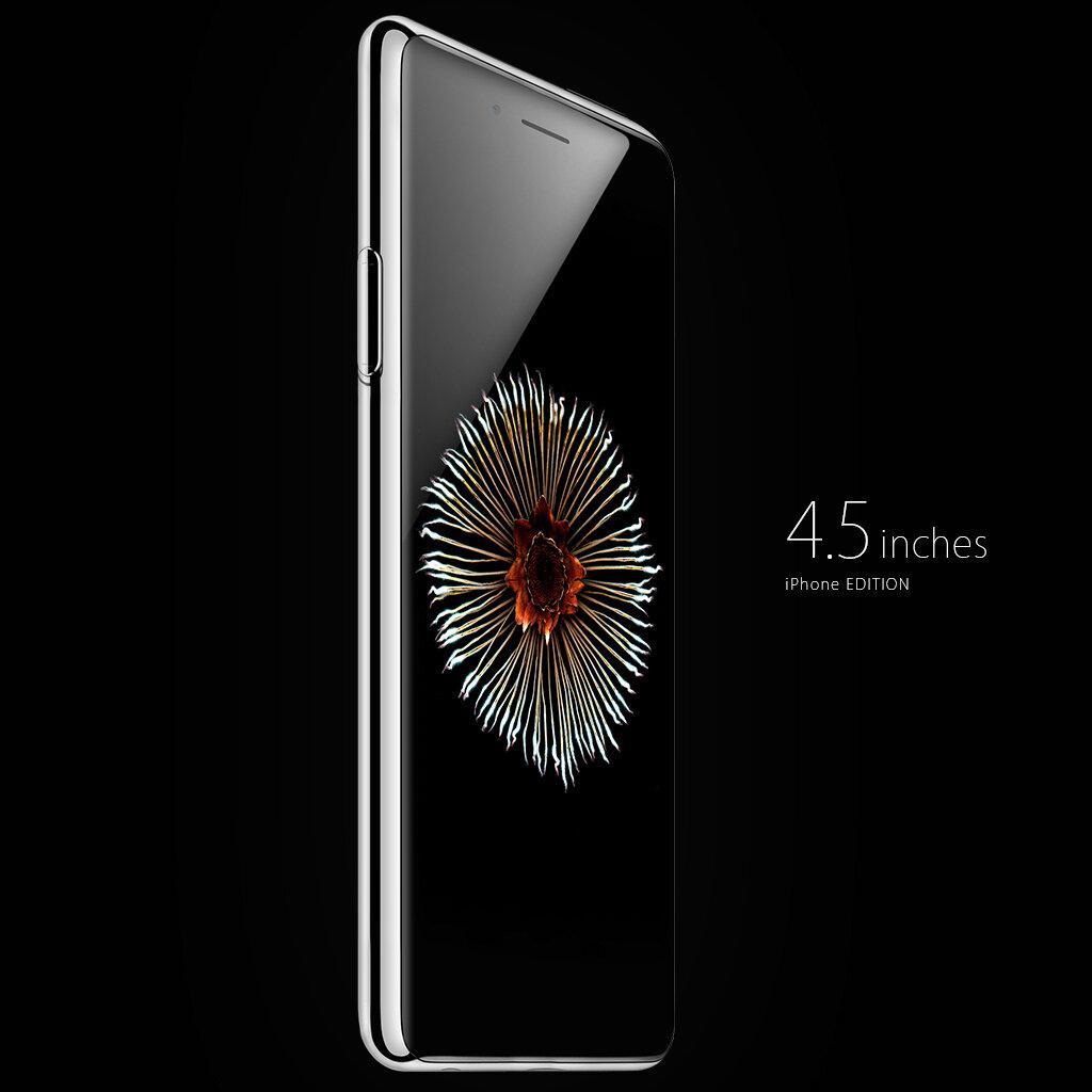 Concept iPhone 6s đẹp long lanh lấy cảm hứng từ Apple Watch