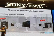 Công nghệ âm thanh Acoustic Surface trên dòng tivi OLED Sony có gì đáng chú ý?