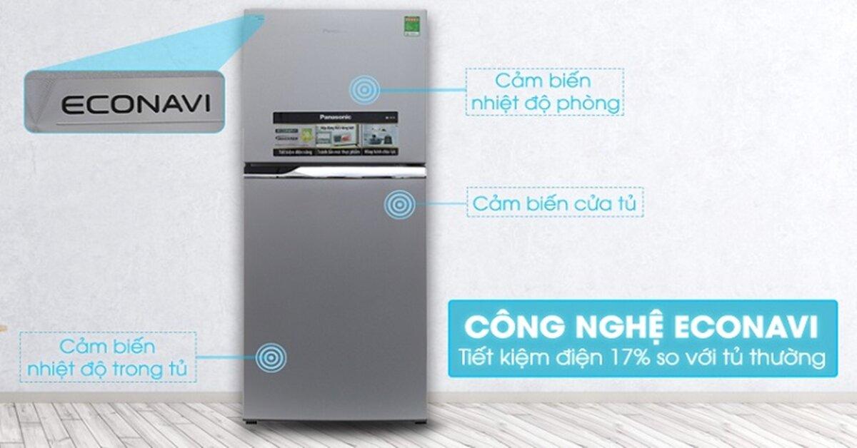 Công nghệ ECONAVI tiết kiệm điện trên tủ lạnh Panasonic hoạt động như thế nào ?