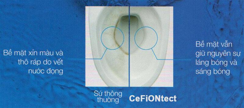 Công nghệ nổi bật của thương hiệu bồn cầu TOTO