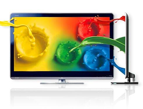 Công nghệ Quattron đem đến sức mạnh cho tivi sharp