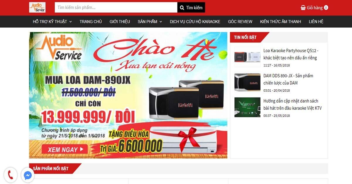 Công ty thiết bị âm thanh, dịch vụ sửa chữa , cứu hộ karaoke tốt nhất