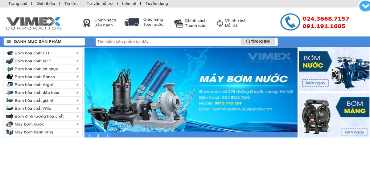 Công ty TNHH Vimex – Tự hào thương hiệu Việt