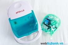 So sánh máy xông mũi họng Compmist và máy xông mũi họng Apollo