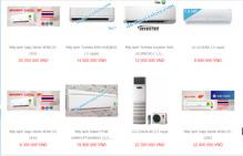 Điện Máy Tại Gia – Mua hàng máy lạnh chính hãng, đa dạng thương hiệu, giá tại kho