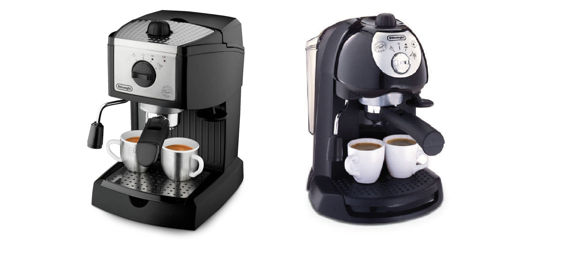 Cuộc chiến giữa máy pha cà phê DeLonghi EC155 và DeLonghi Bar 32?