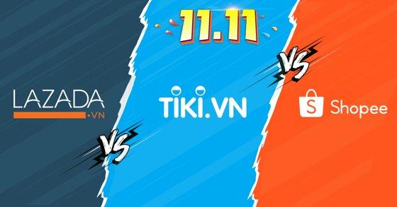 Cuộc chiến thương mại điện tử Lazada – Shopee – Tiki và tác động tới người tiêu dùng
