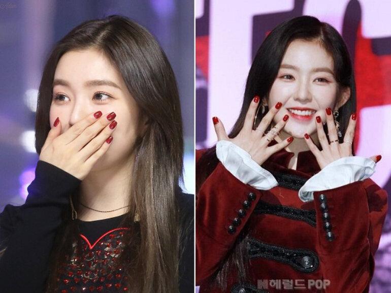 sơn móng tay Red Velvet