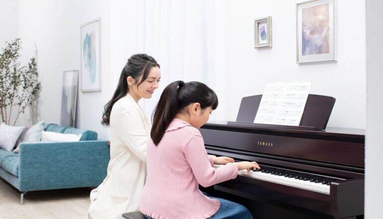 Đàn Piano Clavinova CLP-735và CLP-745