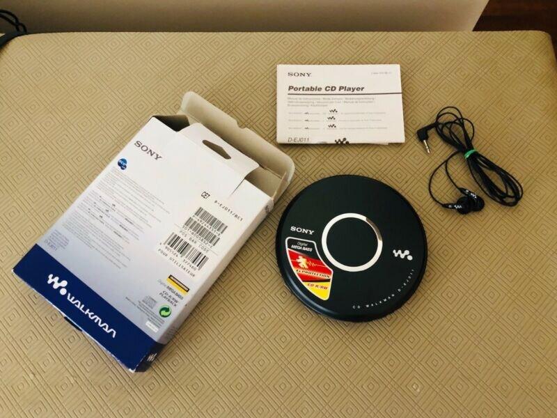 Thiết bị sử dụng đĩa CD Walkman của Sony