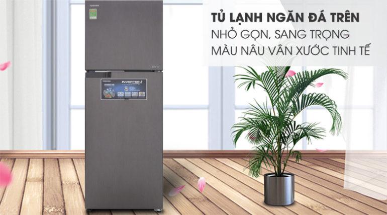 tủlạnh Toshiba GR-AG36VUBZ - Inverter, 305 lít