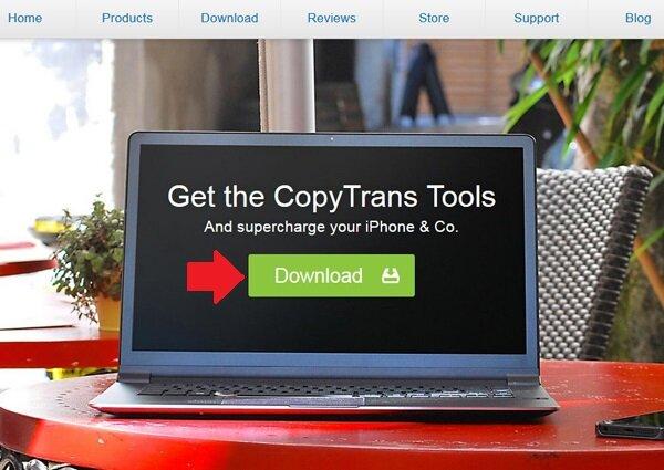 Cách cài đặt phần mềm CopyTrans Manager