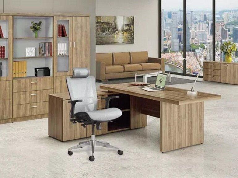 Thiết kế của bàn ghế văn phòng Xuân Hòa đơn giản nhưng tinh tế và sang trọng